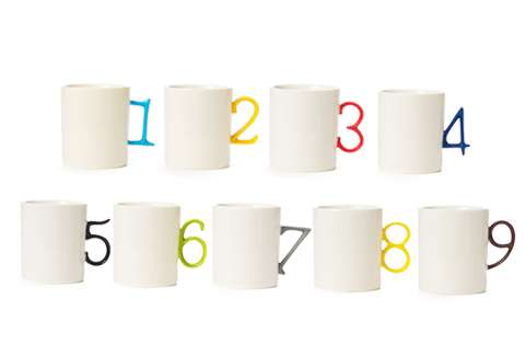 Organized Numerical Cups
