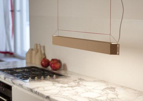Minimalist Cardboard Illumiators