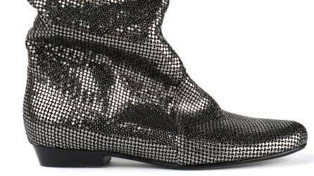 Slouched Disco Booties