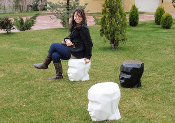 Statue Head Seats