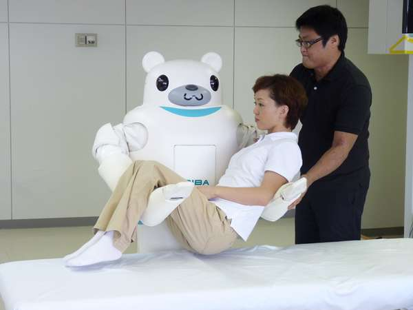 Japanese Nursing Home Robots