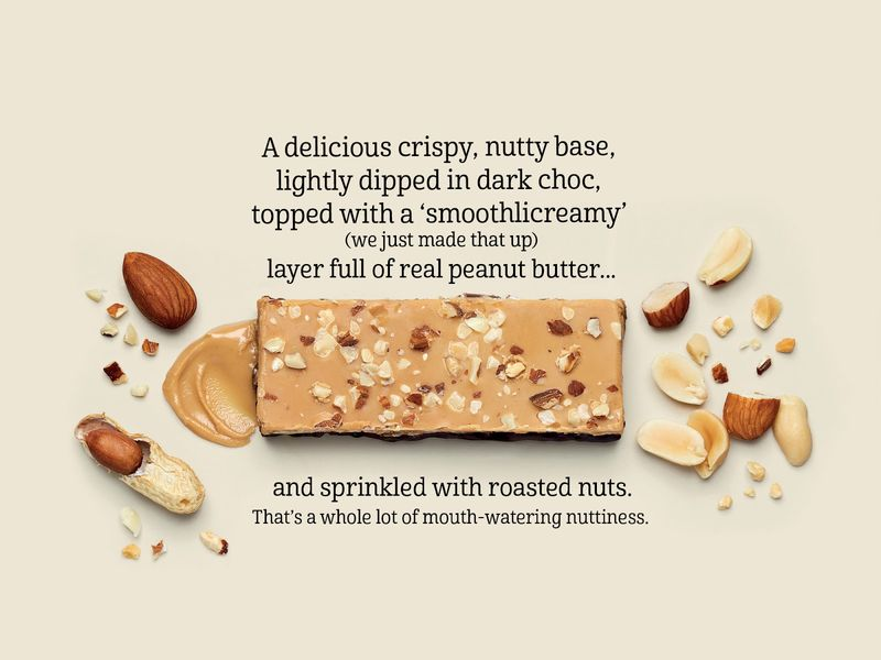 Chunky Nut Butter Bars