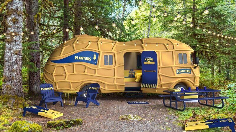 Peanut-Themed Nature Retreats