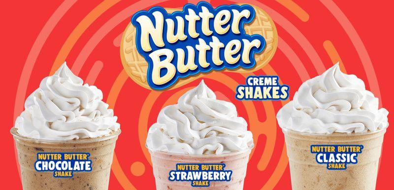 Peanut Butter Cookie Milkshakes