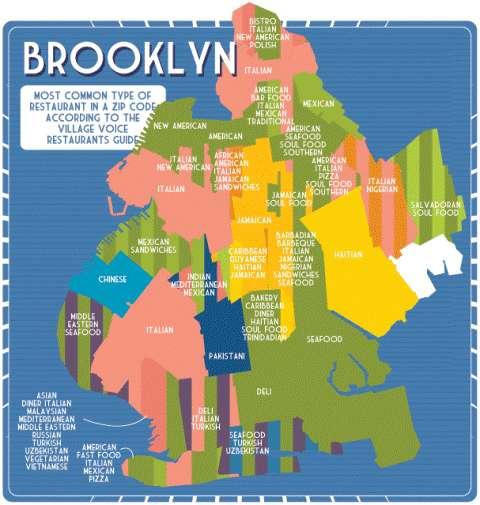 Big Apple Restaurant Maps