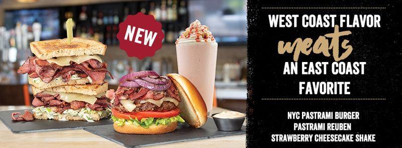 Towering Pastrami-Topped Burgers