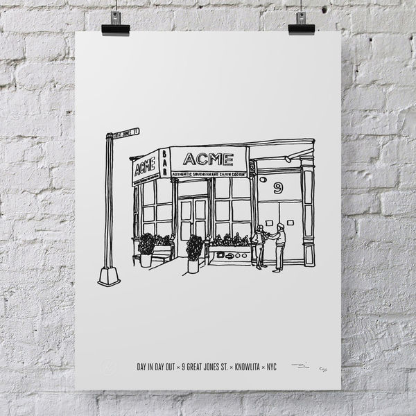 Illustrated NYC Prints
