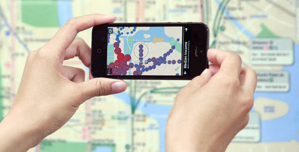 Augmented Reality Transit Maps
