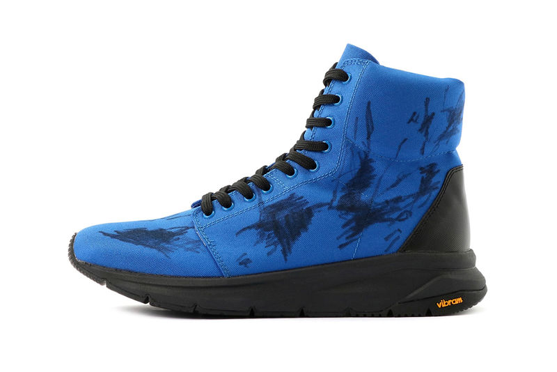 Scribbled Graphics Boxer Sneakers