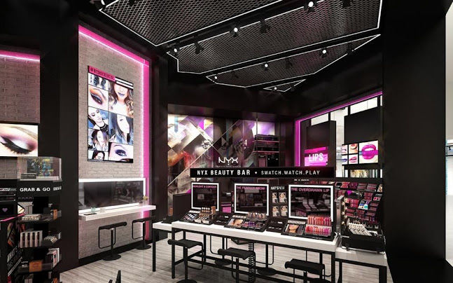 digital flagship beauty stores nyx new jersey. Black Bedroom Furniture Sets. Home Design Ideas