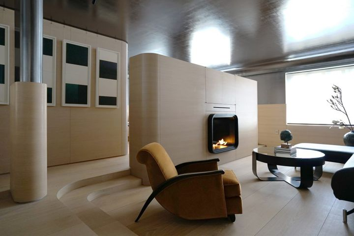 Futuristic Wood-Clad Apartments