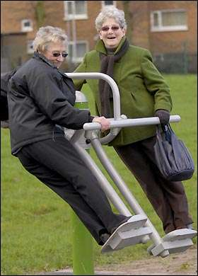 Playground for Pensioners
