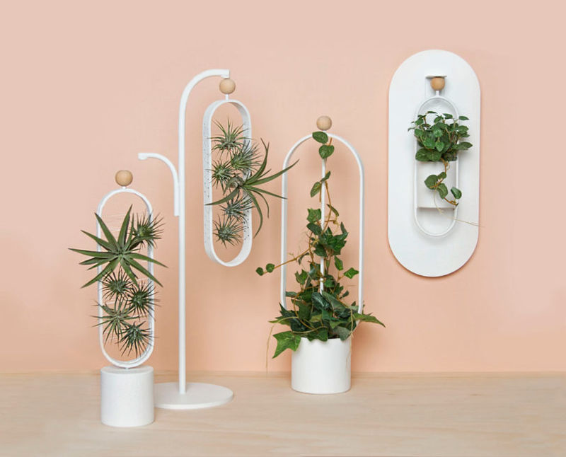 Movable Desk-Friendly Planters