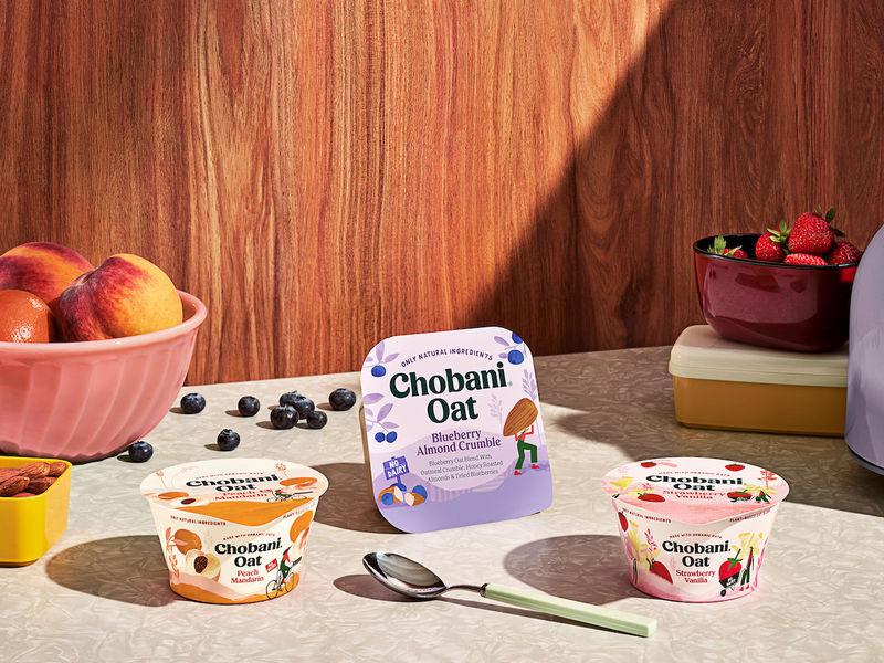 Oat-Based Yogurt Alternatives