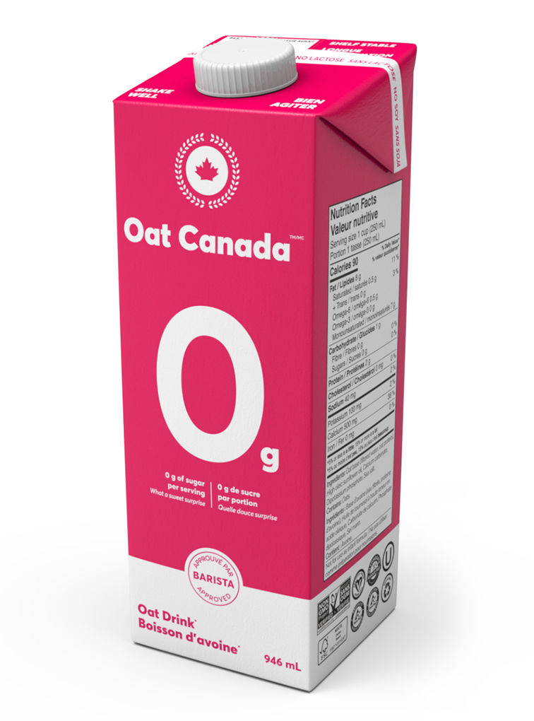 Zero-Sugar Oat Beverages