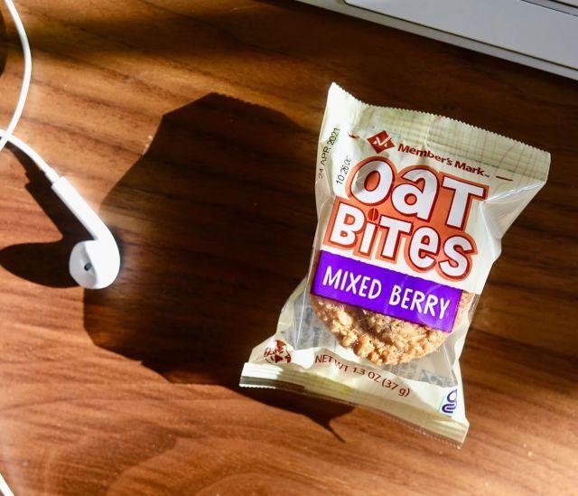 Whole-Grain Oat-Based Snack Bites