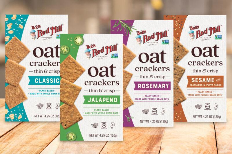 Crispy Oat Crackers