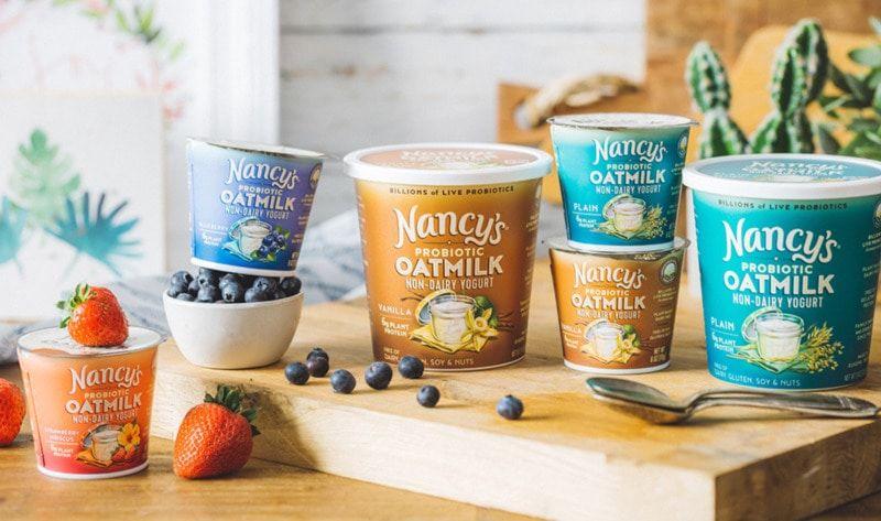 Probiotic Oat-Based Yogurts