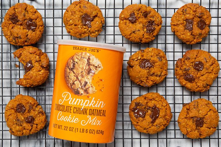 Pumpkin Spiced Cookie Mixes