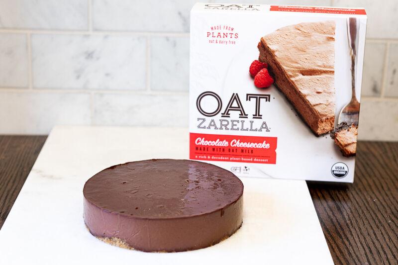 Creamy Oat Milk Cheesecakes