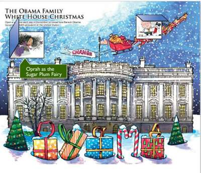 Presidential Inauguration Countdowns The Obama Advent Calendar