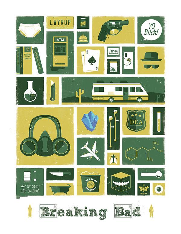 Fictional Emblem Posters