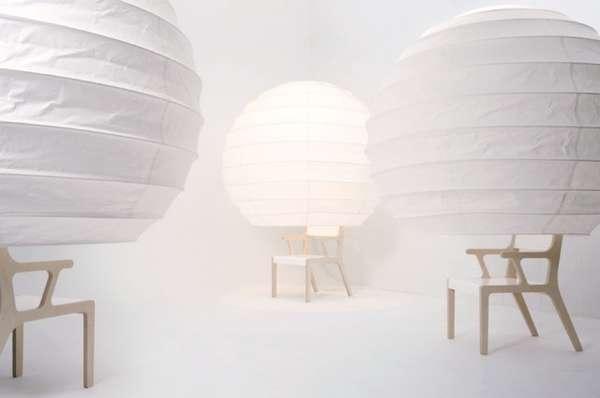 Lantern-Like Seating