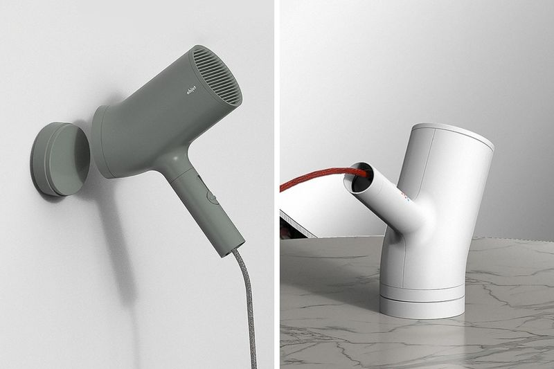 Branch-Inspired Blow Dryers