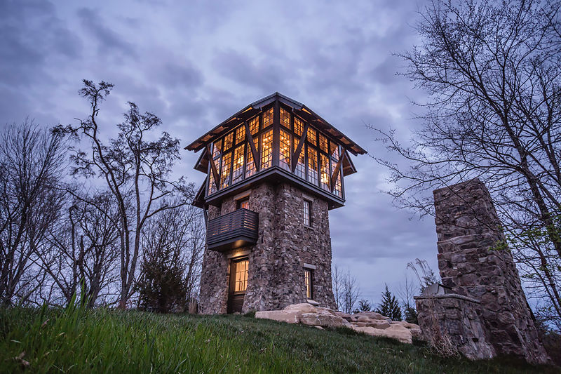 Rustic Tower Homes
