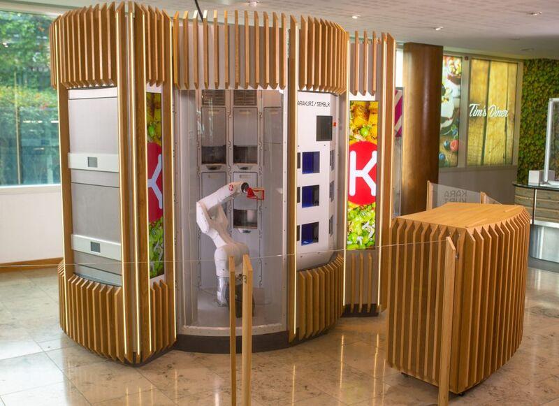 Robotic Bespoke Food-services