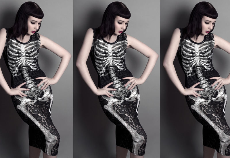 Skeletal Occult Apparel
