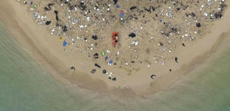 Humorous Ocean Clean-Up Campaigns