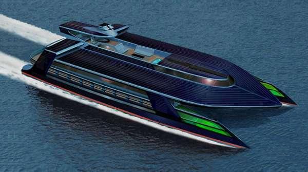 Solar Super Yachts
