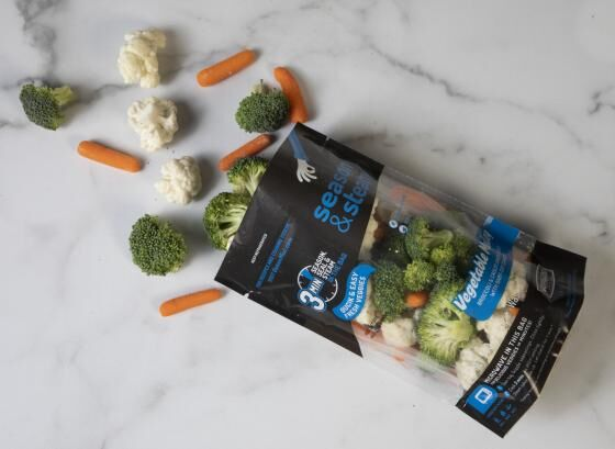Microwaveable Frozen Veggie Packs