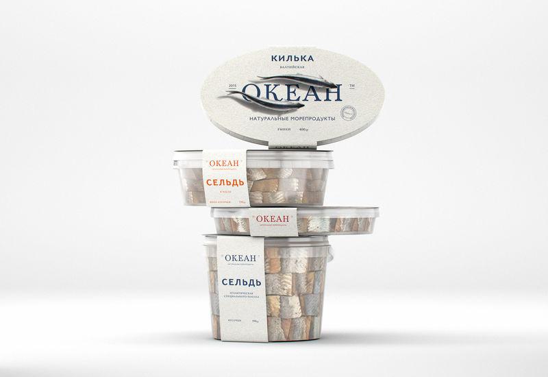 Ocean-Inspired Seafood Branding