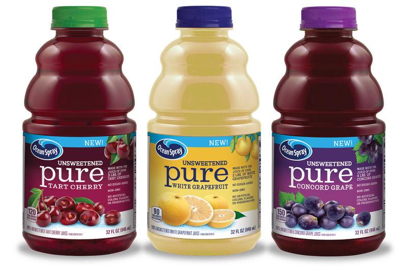 Crisp Unsweetened Fruit Juices