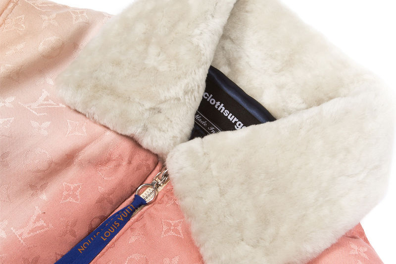 Scarf-Constructed Bomber Jackets