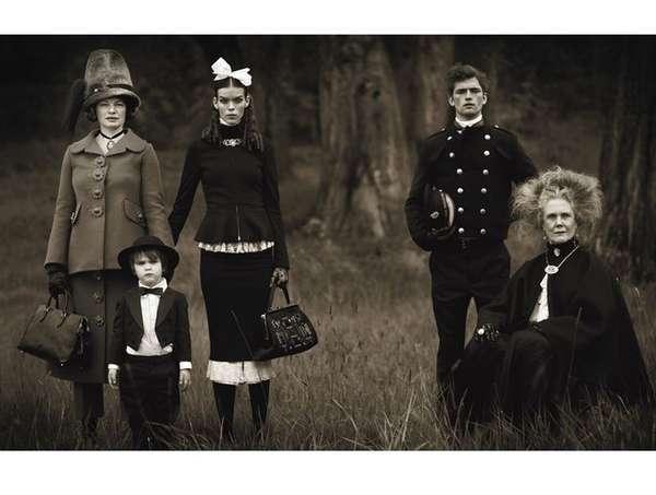 Vintage Family Portraiture