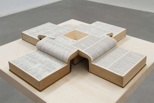 Merging Book Sculptures