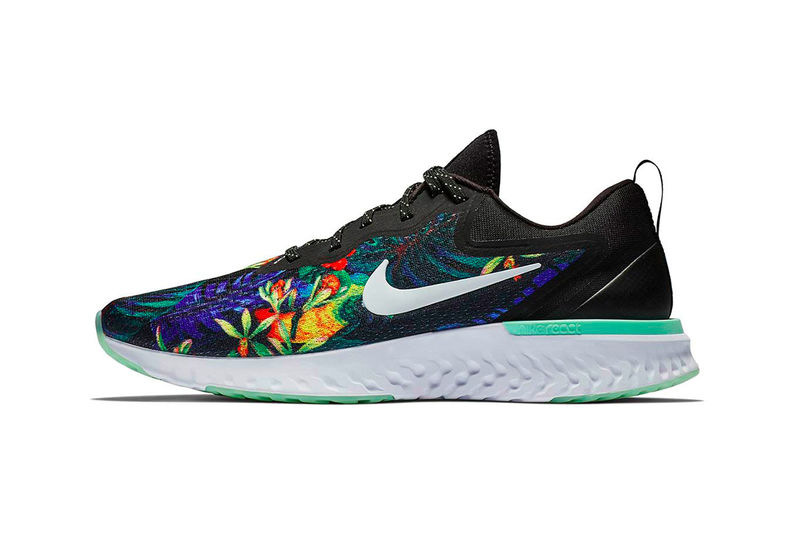 Flower-Centric Running Shoes