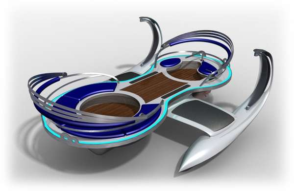 Eco Hot Tub Boats