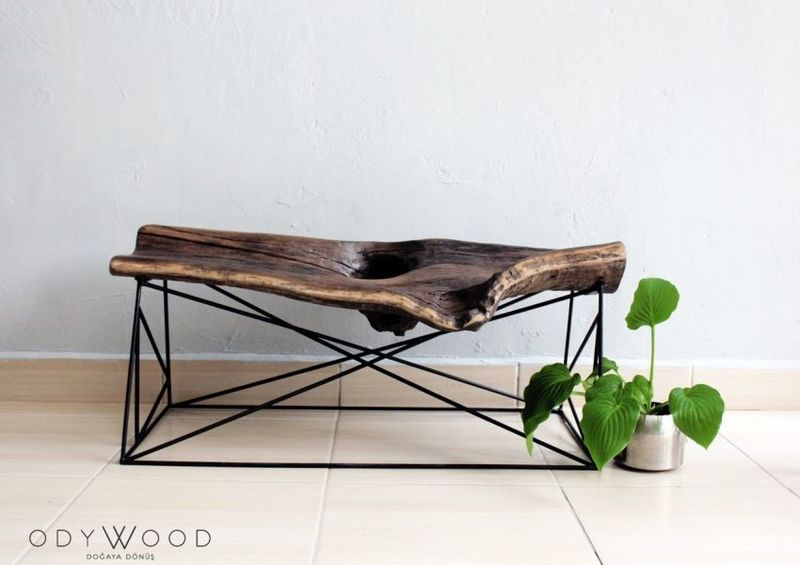 Aged Wood Furniture Pieces