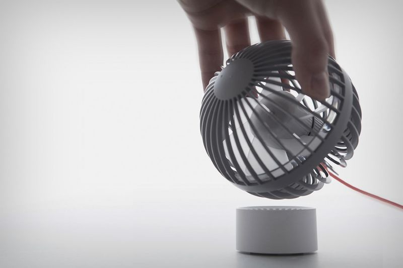 Multidirectional USB Fans