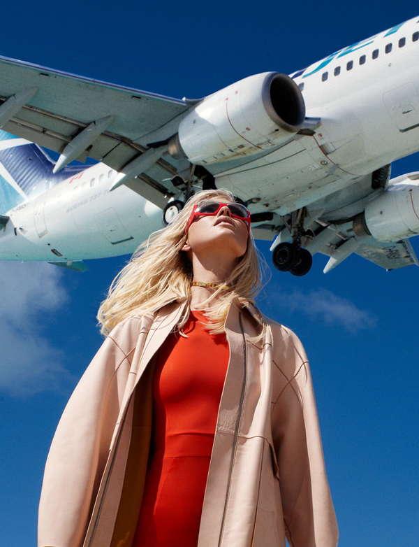 Airplane Landing Editorials