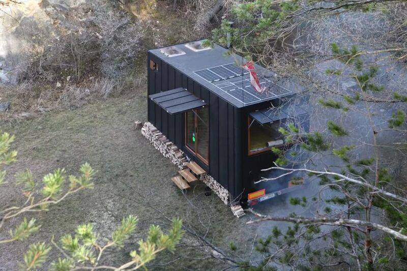 Eco-Focused Mobile Tiny Homes