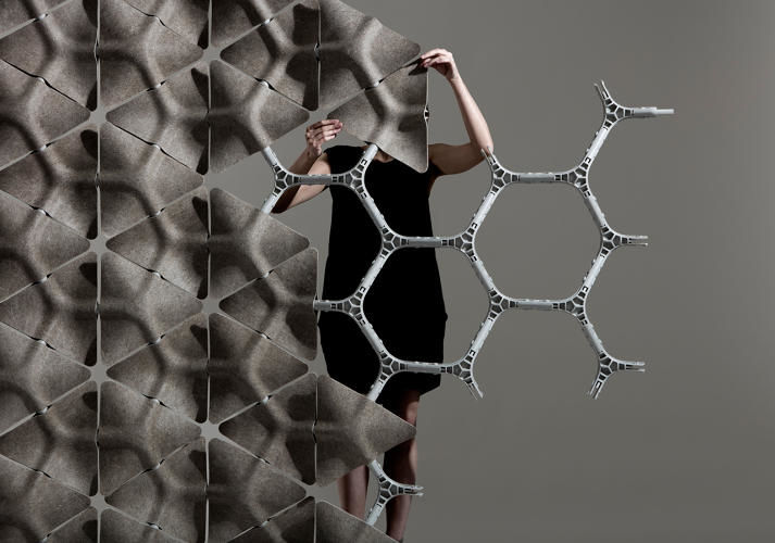 Honeycomb Acoustic Partitions