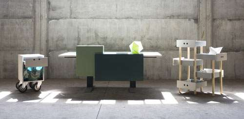 Re-Imagined Work Furniture