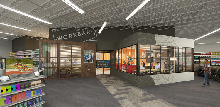 In-Store Co-Working Stations