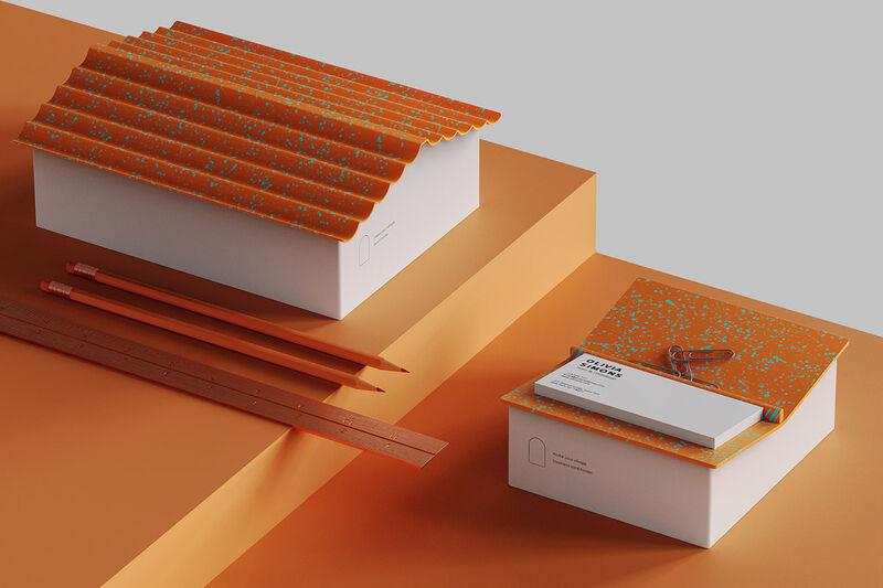 Architecturally Inspired Desk Accessories