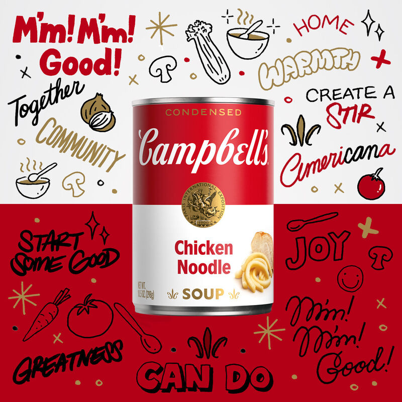 Soup-Inspired Digital Artworks